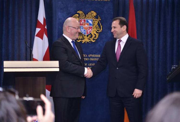 Армения и Грузия подписали программу военного сотрудничества на 2019 год