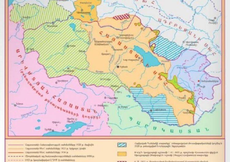 Потери территории советской Армении и государственность Армении