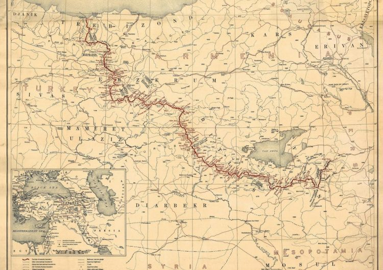 Mayk Pompeo Türkiye'nin parçalara bölündüğü bir haritayı yayınladı