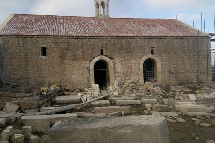 Տողի Սուրբ Յովհաննէս եկեղեցիէն ներս կ՛ընթանան վերանորոգման աշխատանքներ