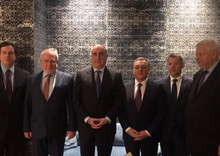 Ermenistan Cumhuriyeti ve Azerbaycan Dışişleri Bakanlarının toplantısı AGİT-Minsk grubu  eş başkanlarının girişimiyle Viyana'da başladı