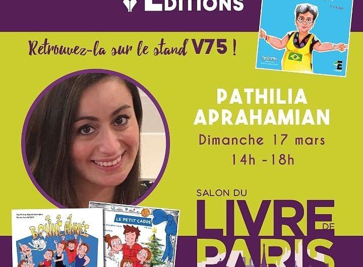 Patilia Abrahamyan'ın kitapları 17 Mar'ta gerçekleşecek olan Paris Kitap Fuarı'nda