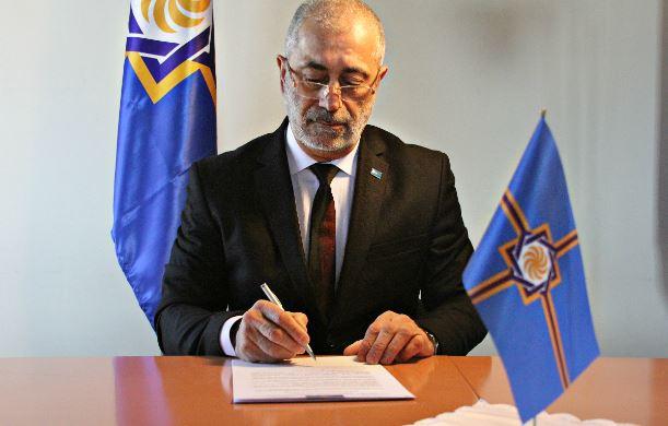 Реми Макинджян, почетный консул Западной Армении в Париже и Иль-де-Франсе