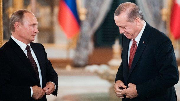 В Кремле пройдут переговоры Путина с Эрдоганом