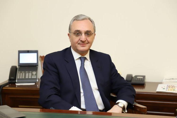 Ermenistan Cumhuriyeti Dışişleri Bakanı Zohrap Mnatsakanyan resmi bir ziyaret için Etopya'ya gitti