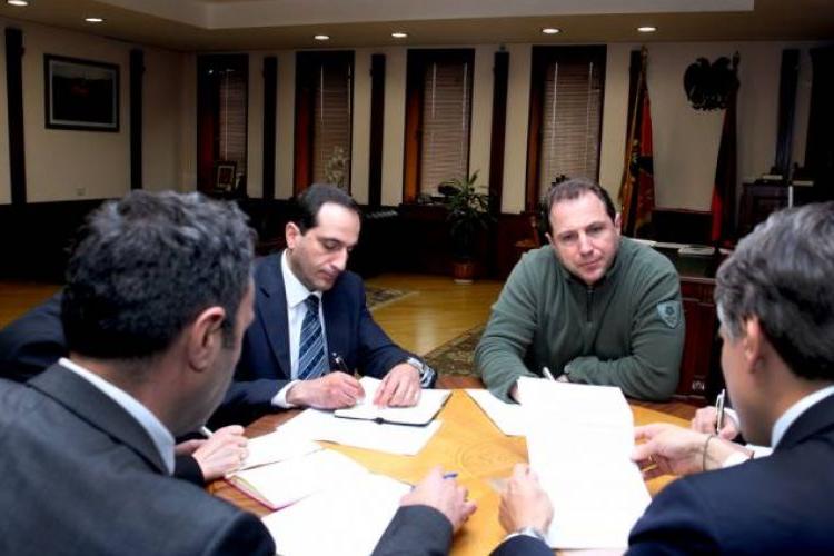 Давид Тоноян встретился с постоянным представителем программы развития ООН в Армении