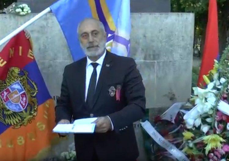 Journée de Commémoration des Victimes du Génocide perpétré contre le peuple arménien, le 24 Avril 2019 à Paris