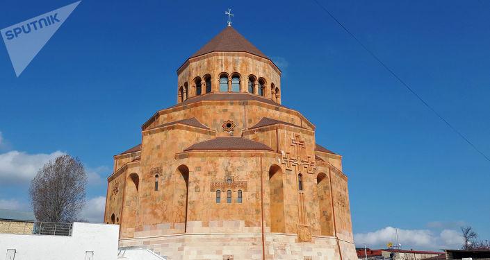 В Степанакерте состоялось освящение  и открытие главного  собора