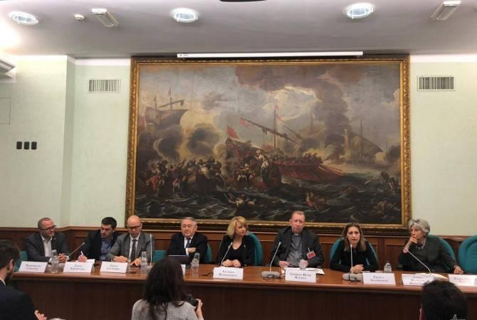 Իտալիոյ Պատգամաւորներու պալատին մէջ տեղի ունեցեր է Հայերու դէմ կատարուած ցեղասպանութեան առնչութեամբ համաժողով