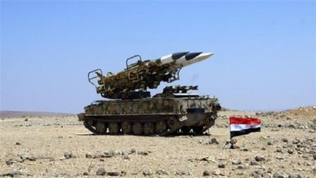 Suriye Hava Savunma Kuvvetleri İsrail füzelerini vurdu
