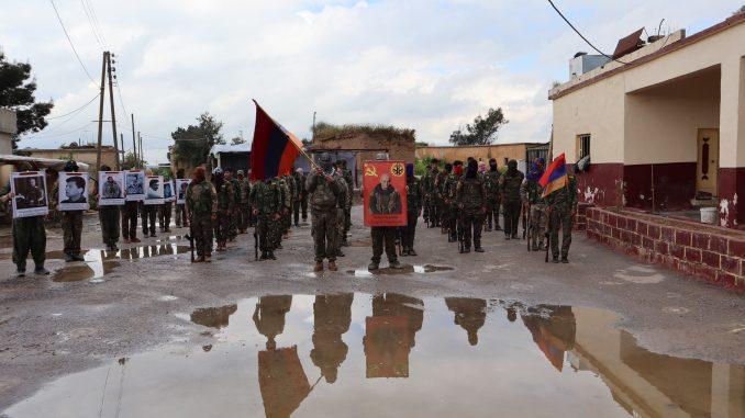 Основан армянский батальон Нубар Озанян