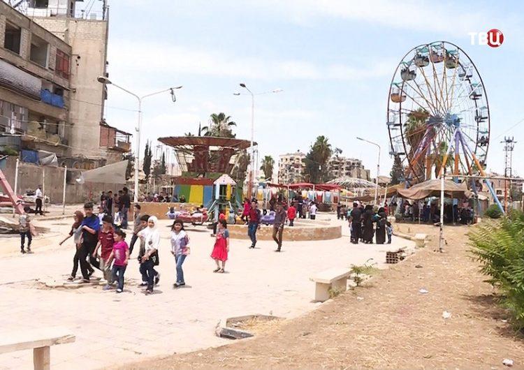Սուրիական Դումա քաղաքը 95 տոկոսով վերականգնուեր է