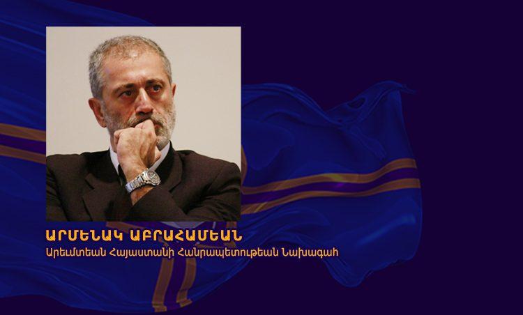 Batı Ermenistan Cumhuriyeti Devlet Başkanı Armenak Abrahamyan'ın Paris'ten mesajı
