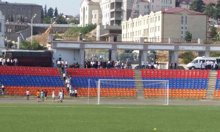 В Степанакерте проходит чемпионат Арцахской футбольной лиги