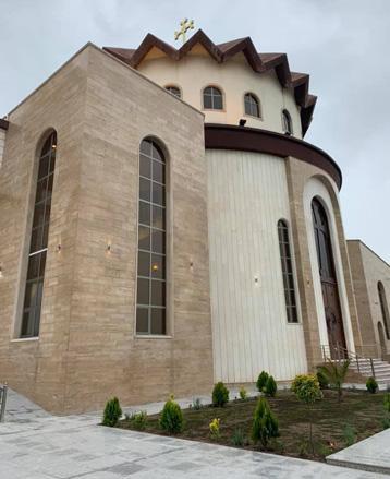Էրբիլի մէջ բացուեր է առաջին Հայկական եկեղեցին