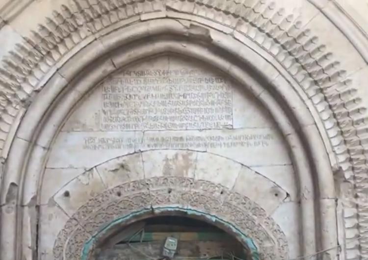 Վանի Եօթ Եկեղեցի կոչուող վանքը փլուզման վտանգի առջեւ է