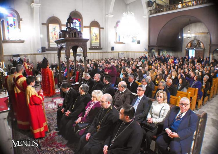 Հալեպի մէջ տեղի ունեցեր է հայկական Սրբոց Քառասնից Մանկանց Մայր եկեղեցիի օծման արարողութիւնը