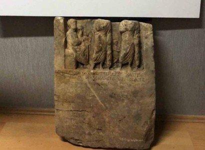 Polisler, define kaçakçılarında Ermeni kralının mezar taşını buldu
