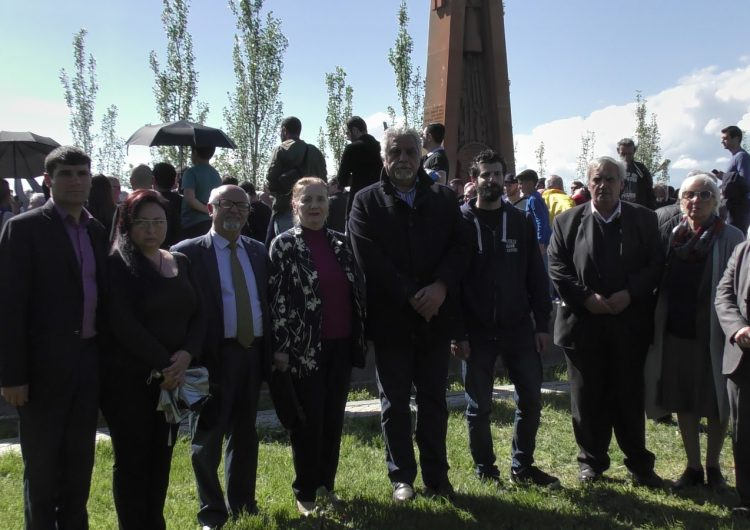 The relics of the ASALA's hero Gourgen Yanikian were reburied in Yerablur military pantheon