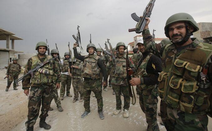 Սուրիական բանակը ազատագրեր է Քաֆր-Նաբուդ քաղաքը