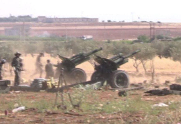 Сирийская армия атаковала турецкие наблюдательные пункты возле границы Идлиб