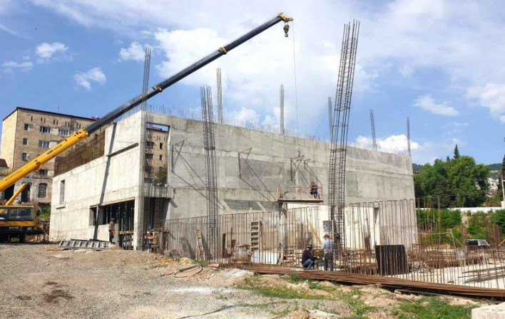 Степанакертский спортивно-концертный комплекс будет сдан в эксплуатацию в 2020 году