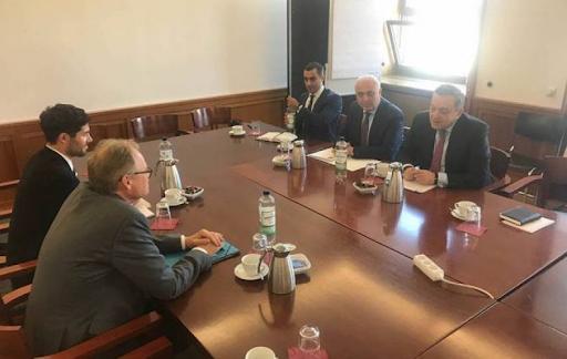 Հայաստանի և Գերմանիոյ Արտաքին Գործոց նախարարութիւնները քաղաքական խորհրդակցութիւններ կատարած են