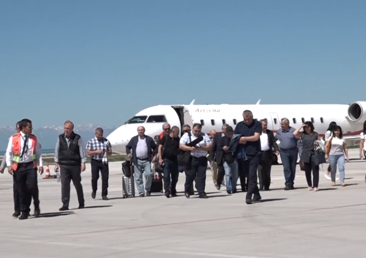 First ever Armenian plane departs for Van from Yerevan