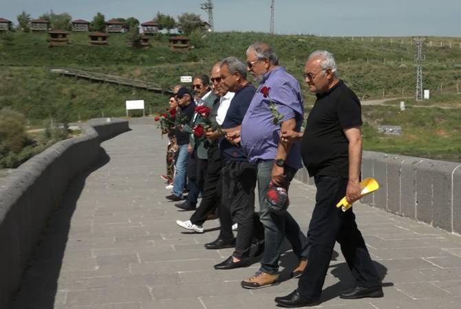 Pan-Ermeni  Oyunlarının Dünya Komitesi Batı Ermenistan'ın Muş şehrini ziyaret etti