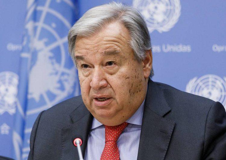 Гутерриш назвал единственный способ прекратить конфликт в Сирии