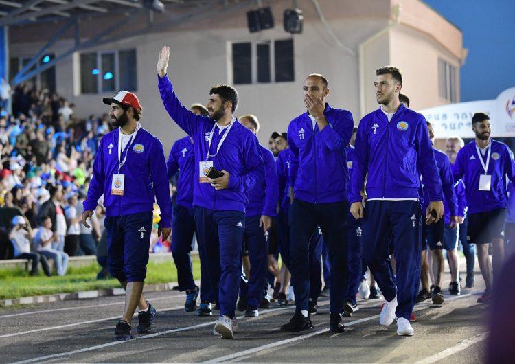 Сегодня сборная Западной Армении будет соревноваться в полуфинале Conifa Artsakh Euro 2019