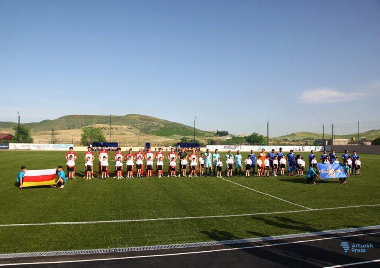 Сборная Западной  Армении по футболу проиграла сборной Южной Осетии