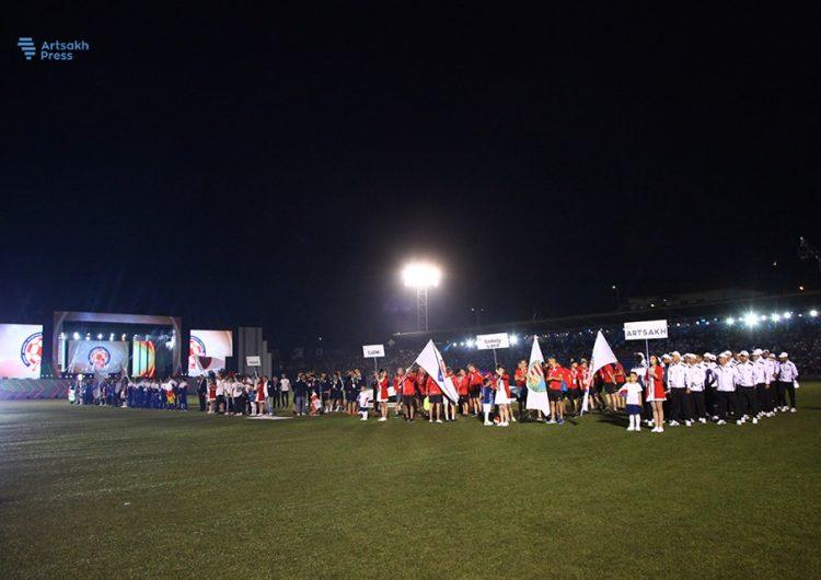 Ստեփանակերտում կայացել է ConiFA-2019 Եվրոպայի առաջնության հանդիսավոր բացման արարողությունը (լուսանկարներ)