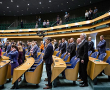 Motion Voordewind on the condemnation of the Turkish President's statements about the  Genocide against Armenians