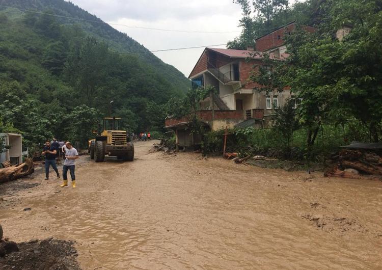Наводнения в Трапизоне