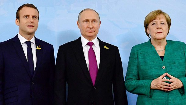 Путин обсудил с Меркель и Макроном ситуацию в сирийском Идлибе