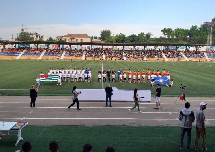 L'Arménie Occidentale en finale de la Coupe d'Europe de la CONIFA 2019