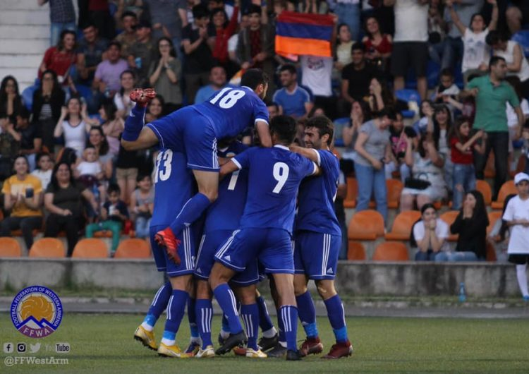 Live broadcast of the final Conifa Artsakh Euro 2019