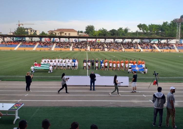 Batı Ermenistan ulusal futbol takımı CONİFA Artsakh 2019 Avrupa Futbol Şampiyonasında finalde