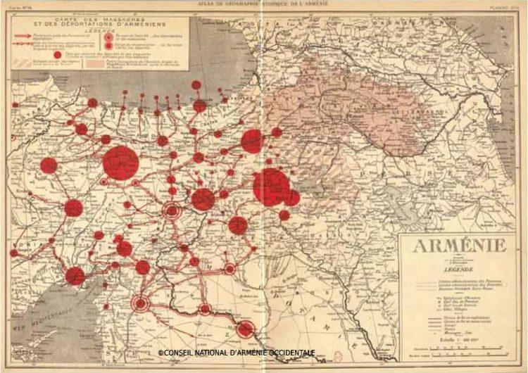 Fransa dünyaya, Ermenilerin İkinci Abdül Hamid tarafından  katledilmesini çikolata kutusu kartpostallarıyla sundu