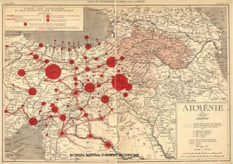 Франция представила миру резню армян во время Абдул Гамида II на открытках  шоколадных конфет