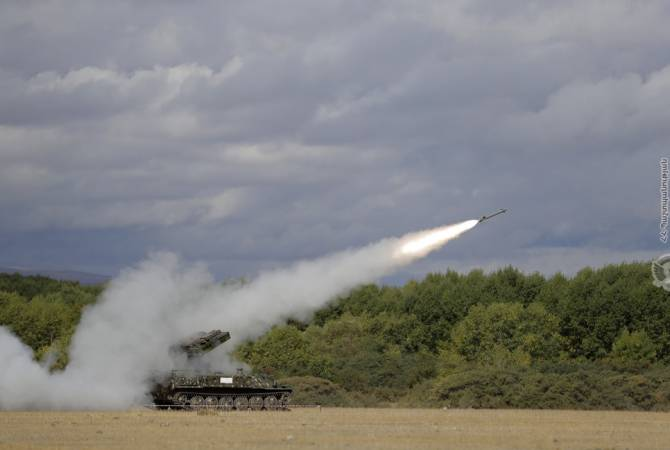 Ermenistan ve Artsakh Cumhuriyetleri'nde askeri tatbikatlar S-300 füze komplekslerinin katılımıyla devam ediyor