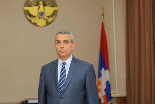 Глава МИД Арцаха принял делегацию благотворительного фонда «Туфенкян»