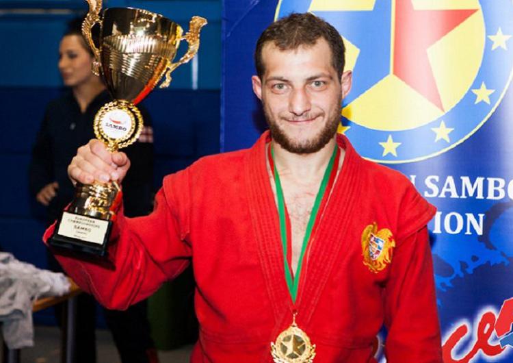 Sambocu Digran Giragosyan Avrupa Oyunlarında altın madalya kazandı,