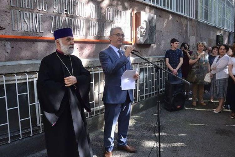 Lusine Zakaryan'ın ev müzesi Yerevan'da açıldı