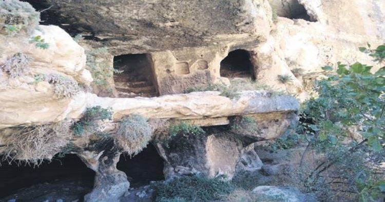 В Самосате была найдена трехэтажная пещера