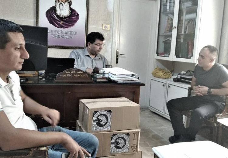 Гуманитарная миссия Армении подарила медикаменты Армянскому дому престарелых и госпиталю в Алеппо