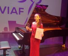 Հայ երիտասարդ դաշնակահարուհին Վիեննայի մէջ արժանացեր է 1-ին պատուաւոր մրցանակի