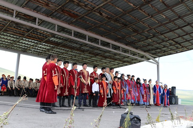 Праздник песни на родине Дживани