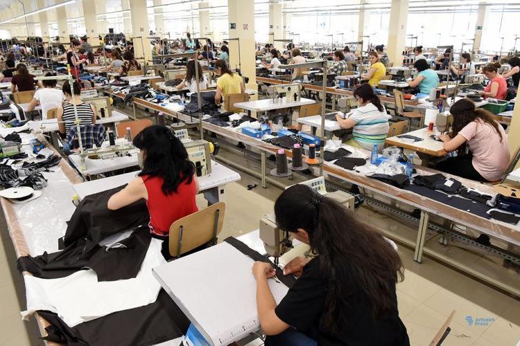 Первое крупное предприятие по легкой промышленности в Арцахе подвело итоги своей пятилетней деятельности